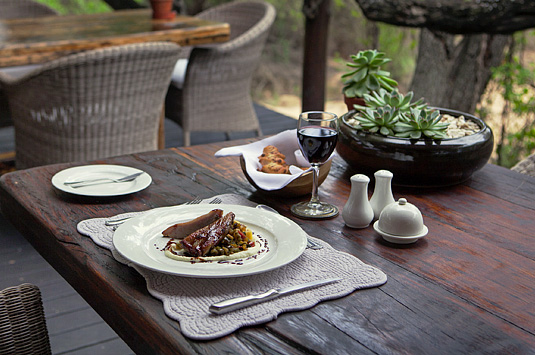 Camp Jabulani Luxury Lodge Cuisine Fine Wine Dining Kapama Greater Kruger